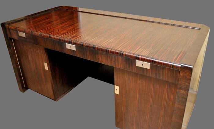 art deco schreibtisch art deco schreibtische b rom bel u. Black Bedroom Furniture Sets. Home Design Ideas